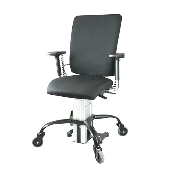 SitAbility eLift-Rotate powered office chair