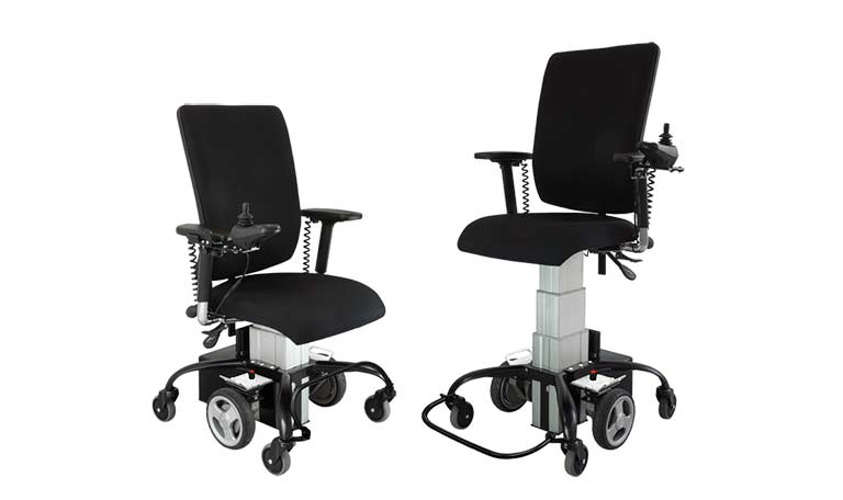 the Sitability eLift-Drive powered chair