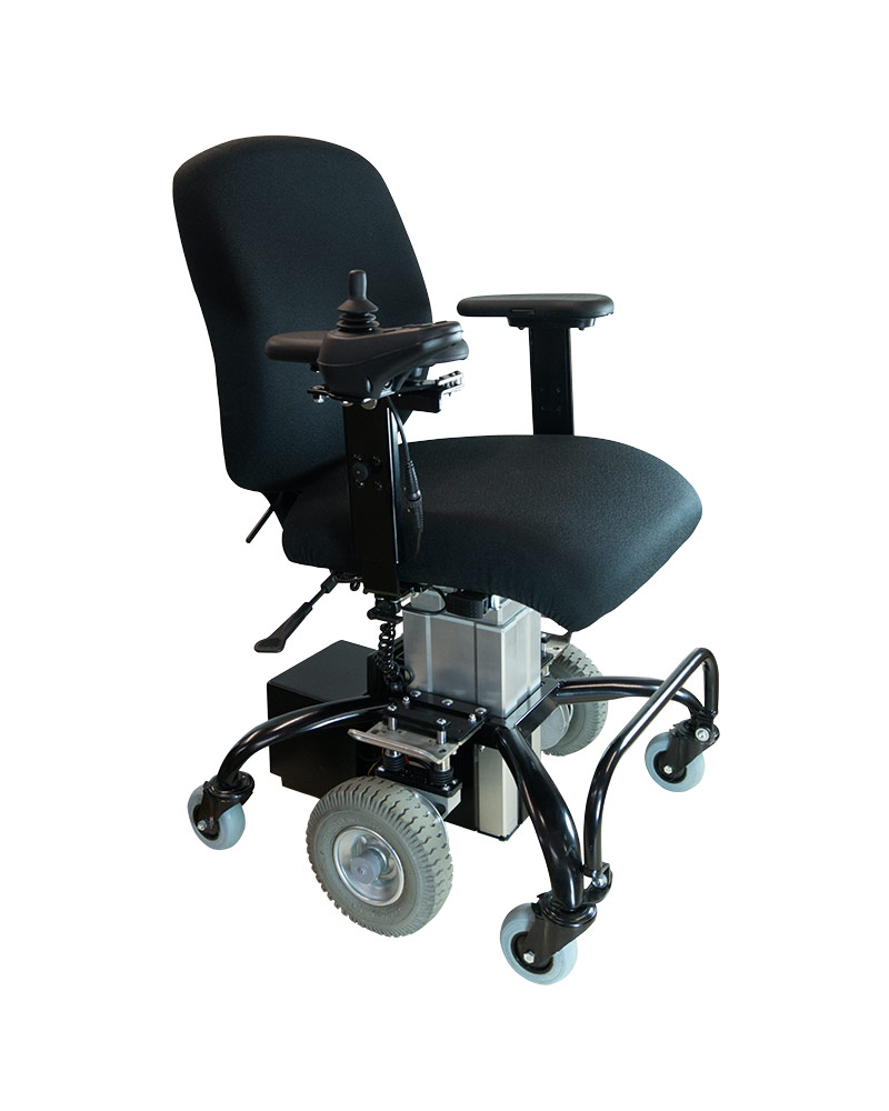 The Sitability eLiftDrive in a side-on view